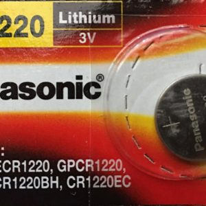 Pin CR1220 Panasonic 3V Lithium