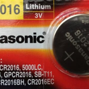 Pin CR2016 Panasonic 3V Lithium