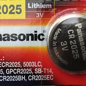 Pin CR2025 Panasonic 3V Lithium