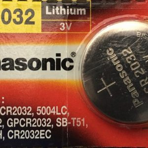 Pin CR2032 Panasonic 3V Lithium